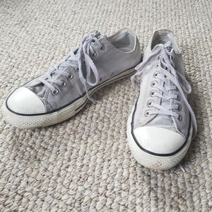 12 Converse, lt grey, mens, All Stars